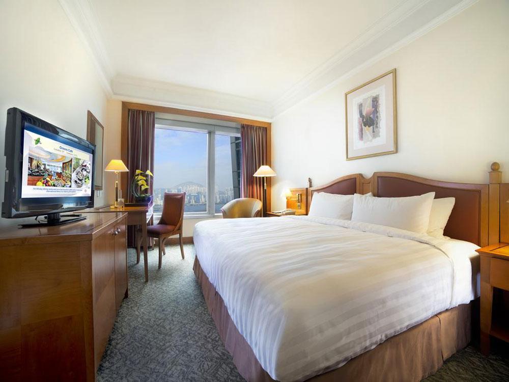 北角海逸酒店-高級半海景客房