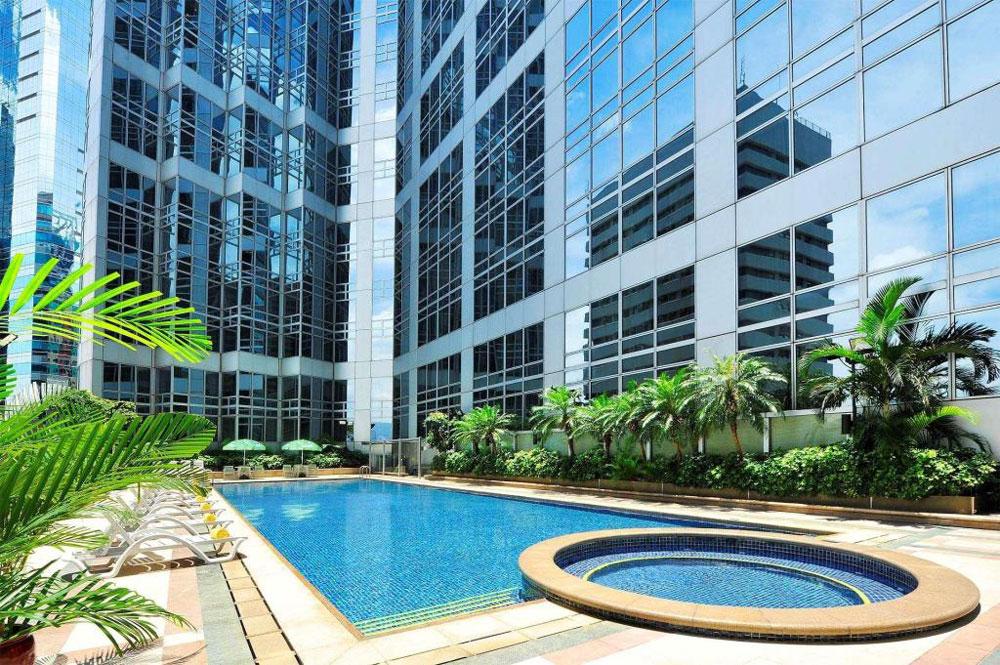 北角海逸酒店-室外泳池