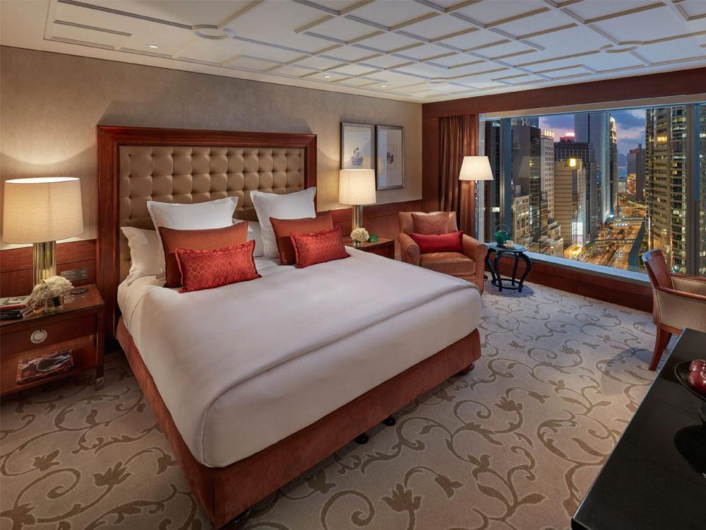 香港文華東方酒店-城市景觀客房