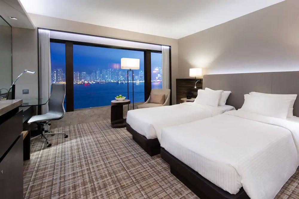 千禧新世界香港酒店-海景客房