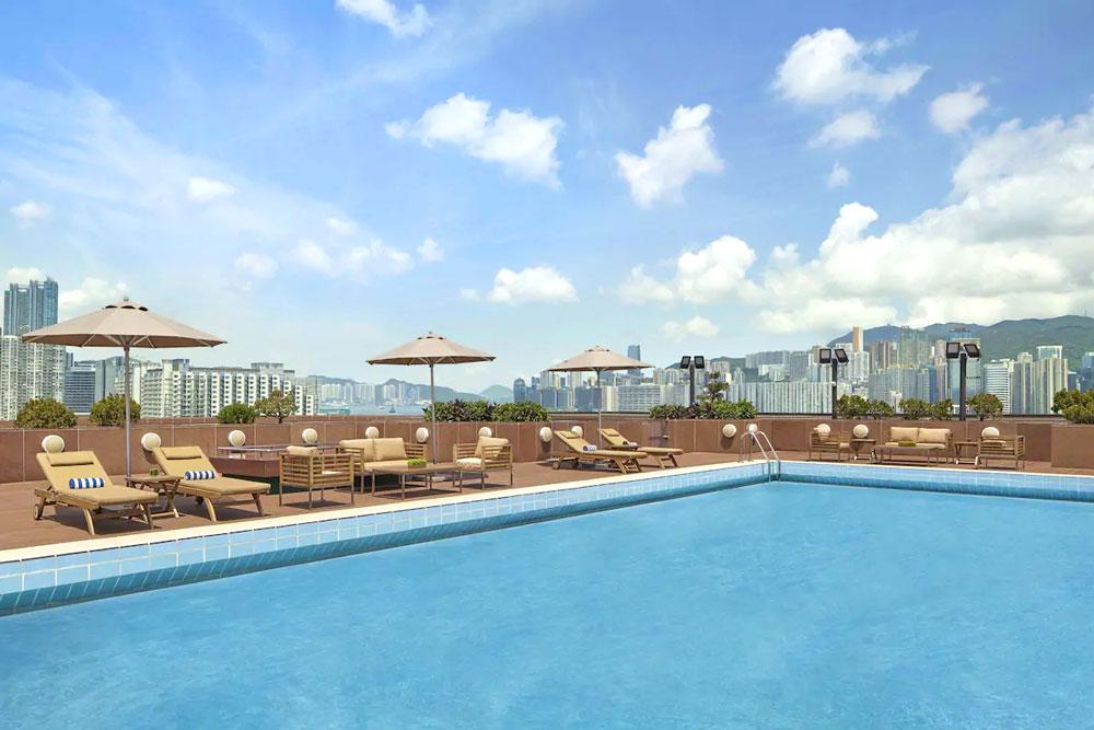 千禧新世界香港酒店-室外泳池