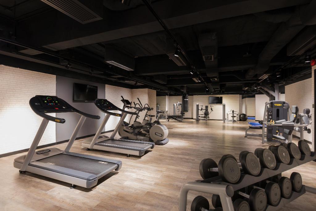 屯門貝爾特酒店-健身室