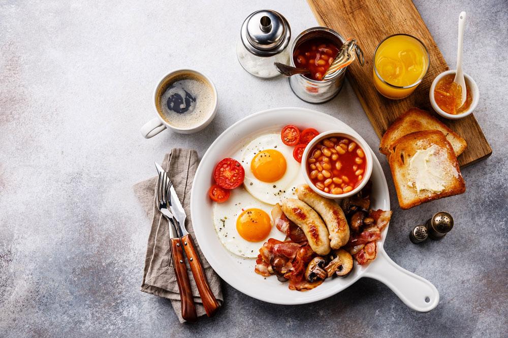 萬麗咖啡室自助早餐